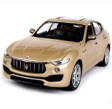 Bburago 1:24 Maserati Levante Diecast Model Sports Racing Car Toy Golden NIB