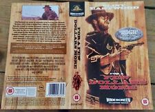 Vintage 1990s Vhs video sleeve For a Few Dollars More would look great framed
