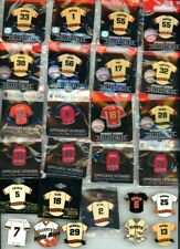 SF Giants Player Jersey Pin Choice 28 Pins Various Years All-Star Mays Posey