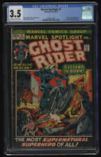 Marvel Spotlight #5 CGC 3.5 OW/W Pgs 1st Appearance Ghost Rider Johnny Blaze