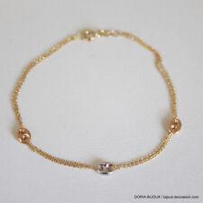 Bracelet Or 750 18k Grain De Cafe 18.Cm 1.6grs- - Bijoux occasion