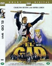 El Cid (1961) Anthony Mann / Charlton Heston / Sophia Loren DVD NEW *FAST SHIP.*