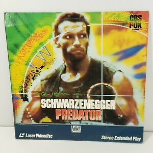 Predator Laserdisc Extended Arnold Schwarzenegger 1991 Movie