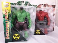 2x Diamond Select Special Collectors Editon Marvel Actionfigur: Green & Red Hulk
