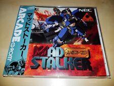 PC Engine Mad Stalker SHMUP Japan Arcade CD-Rom