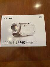 Canon FS200 Camcorder