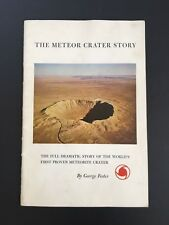 The Meteor Crater Story c1964 Vintage Booklet