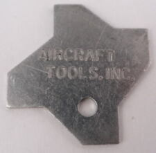 Aircraft Tools Inc. Angle Gauge Aluminum