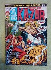 Astonishing Tales #20 (Jan 1974, Marvel) 4.5 VG+ (Ka-Zar)