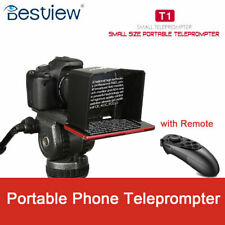 Bestview T1 Teleprompter Portable Phone fr Interview Speech Video Romote Control