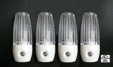4 Pack - LED Night Light Plug in Lighting Automatic w/ Auto Sensor Lot UL Listed