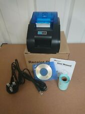 USB Thermal Receipt Printer  Mini Portable Label Printer with High Low