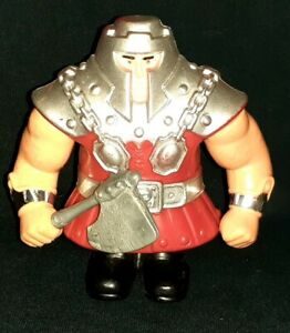 VINTAGE 1983 MATTEL HE-MAN MOTU RAM-MAN COMPLETE WITH AXE TESTED WORKS