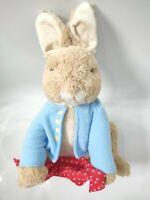 Gund Beatrix Potter Peter Rabbit Peek-a-Boo Plush Working Soft Toy Talking Bunny