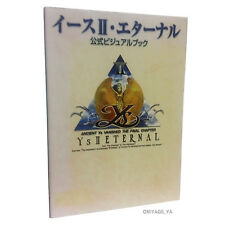 Ys 2 II Eternal Official Visual Book Illustration Art book Import Japan
