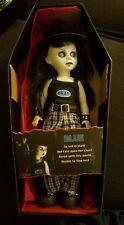 Mezco Living Dead Dolls Series 9 Blue Horror Zombie Gothic has lip jewelry