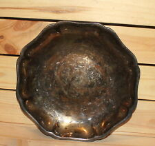 Antique German WMF silver plated bowl