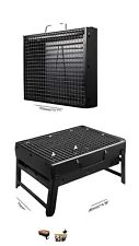 Uttora Charcoal Grill Barbecue Portable Bbq - Stainless Steel Folding Grill T.