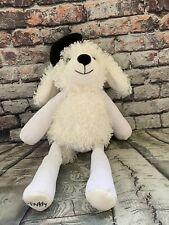 "Scentsy Buddy Pari The Poodle Plush White Dog Black Beret 16"" And Scent Pak P11"