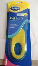 Scholl Women's Soft Firm Gel Activ Everyday Shoe Insoles Comfort Size Uk 3.5-7.5