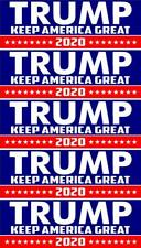 5 PACK TRUMP 2020 CAR TRUCK COMPUTOR WINDOW ... 2.75 X 8 INCH decal stickers