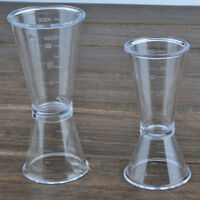 Top Jigger Single Double Shot Drink Spirit Measure Cup Cocktail Wine Bar Tools