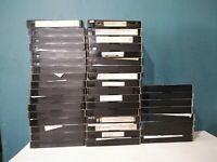 Lot Of 42 Pre-Recorded SONY T-120 PREMIUM 6 HOURS VHS Tapes Sold As Used Blank