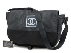 Chanel Extra Large CC Logo Sports Messenger Cross Body 235744