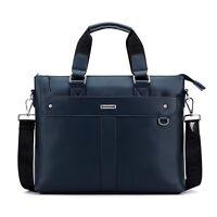 Men's Genuine Leather Tote/Shoulder/Messenger Laptop Bag Briefcase Brand New