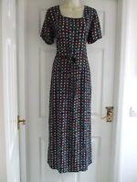 G. Womens Size 14 Monsoon Maxi Dress LADIES SUMMER SMART EVENING FORMAL LONG