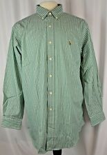 New Ralph Lauren Dress Shirt Size 16.5/33 Striped Cotton Classic Fit Career $69