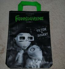 Disney FRANKENWEENIE Collectible Reusable Lunch Bag VICTOR & SPARKY NEW Promo