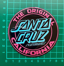 Santa Cruz California Skateboard Sticker (reissue)