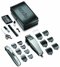 Andis 20140 Promotor + Hair Clipper and Trimmer Combo 23 Piece Kit, New