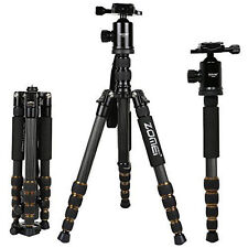 ZOMEI Z669C PROFESSIONAL CARBON FIBER TRIPOD&MONOPOD,BALL HEAD FOR DSLR CAMERA