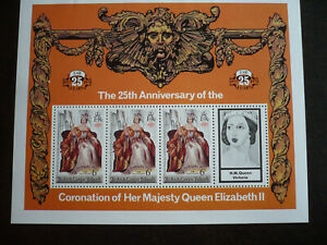 Stamps - Turks & Caicos Islands - Scott# 342 Souvenir Sheet