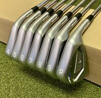 Used Mizuno JPX 900 Forged Irons 4-PW KBS 120g X-Stiff Flex Steel Golf Club Set