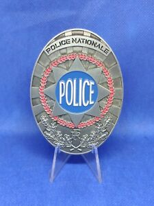 Plaque Police nationale étoile plaque de ceinture, neuf,  gendarmerie medaille
