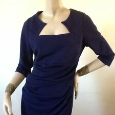 KALEIDOSCOPE. MIDNIGHT RUCHED PENCIL DRESS SIZE 10