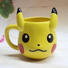 Anime Pokemon GO Pikachu Cartoon Ceramic Office Coffee Milk Mug Water Tea Cup