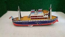 Paya jouet mécanique réédition bateau (2)