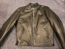 Xelement Mens leather motorcycle jacket