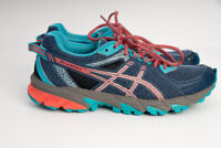 ASICS T684N GEL-Sonoma 2 Teal/Coral/Grey Women's Athletic Running Shoes US 7