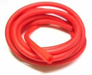 1/4inch Latex tubing EEL Lure Fishing Hook Tube jig - length / color select