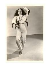 VINTAGE CARMEN AMAYA, Spanish Romani flamenco dancer , ORIGINAL PHOTO