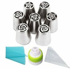 CakeLove Flower Shaped Frosting Nozzles 19 PCS/Set - FAST SHIPPING US