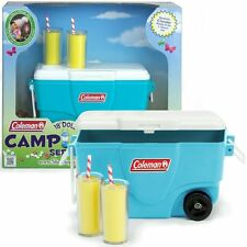 """Doll Clothes AG 18"""" Sophia's Coleman Cooler Aqua Camping For American Girl Doll"""