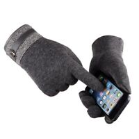 Men Touch Screen Winter Warm Gloves Thermal Fleece Mittens Windproof Glove New