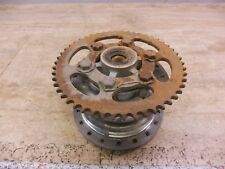 1975 Kawasaki F7 175cc Enduro K600+ Rear Wheel Hub Carrier & Drive Sprocket Gear