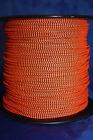 3' BCY Flo Orange & Black Speckled D Loop Material Bowstring Rope Drop Away Cord